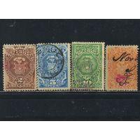 Чили Гербовые 1880-91 Герб #2-5