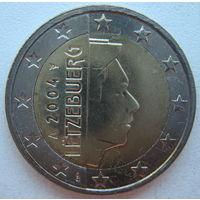 Люксембург 2 евро 2004 г. UNC