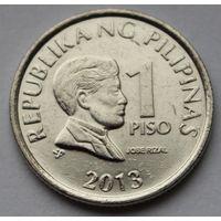 Филиппины 1 писо, 2013 г. (Магнитная).