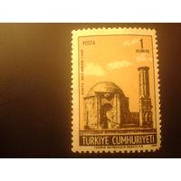 Турция 1968 памятник архитектуры