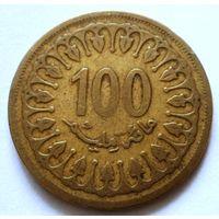 100 миллим 1993 Тунис