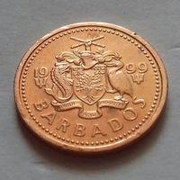 1 цент, Барбадос 1999 г.