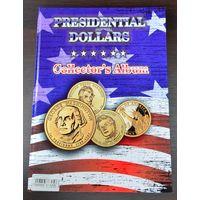 Альбом для монет, с листами, на 48 президентских долларов. /977248/