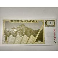 Словения, 1 толар обр. 1990 г. [UNC]