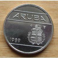 АРУБА,10центов1989г. KM# 2