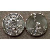 """США 1 доллар, 2020 г. Серия Инновации """"Телефон"""""""
