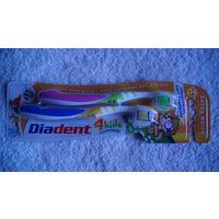 Зубная щётка для детей Diadent 2 шт. распродажа