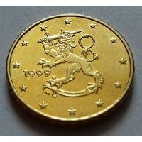 10 евроцентов, Финляндия 1999, 2000 г., AU