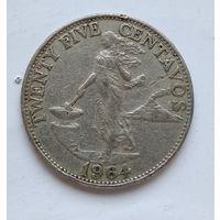 Филиппины 25 сентаво, 1964 3-11-23