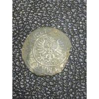 Монета средневековья. Не чищена