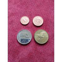 Малави набор 4 монеты