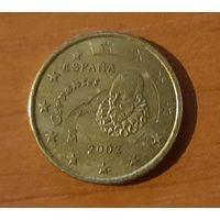 10 евроцентов 2002 Испания