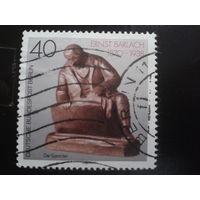 Берлин 1988 памятник поэту Михель-0,7 евро
