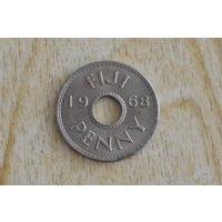 Фиджи 1 пенни 1968