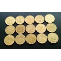 Израиль. 15 монет - одним лотом.