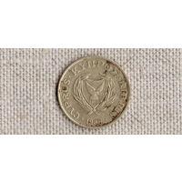 Кипр 5 центов 1988 //(Ст)