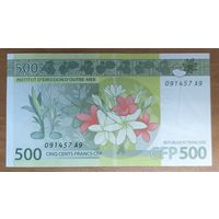500 франков 2014 года - Французская Полинезия - UNC