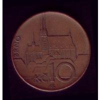 10 Крон 2008 год Чехия
