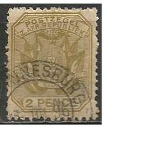 Трансваль. Национальный герб. 1894г. Mi#35.