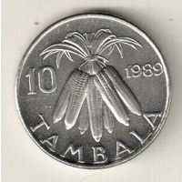 Малави 10 тамбала 1989