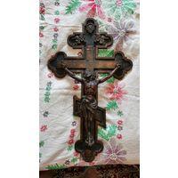 Крест (распятие), литьё. 69х42 см.