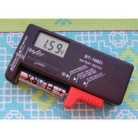 Цифровой измеритель уровня заряда батареии в том числе и кроны. Качество! Покупай умнее, живи веселее!
