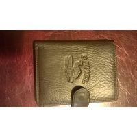Портмоне Camel, кошелек, бумажник, кожаный (натуральная кожа) новый