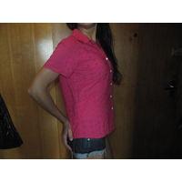 Рубашка блузка 46-48. Как новая. Розовая фуксия Всего за 20 руб. Могу выслать почтой.