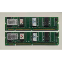 Память SDRAM 64Mb PC133 2шт.