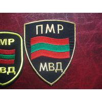 Шеврон МВД Приднестровской Молдавской Республики (1990-е годы)