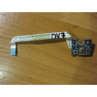 HP DV7 кнопка включения ls-4086p
