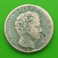 3 ригсбанкскиллинга 1842 ДАНИЯ - Кристиан VIII