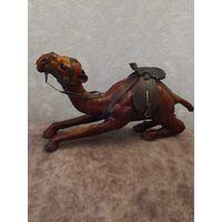 Верблюд ручная работа, кожа, Франция, винтаж