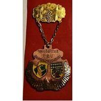Германия. Памятная медаль 1974 год. Армсхайм - центр виноделия.