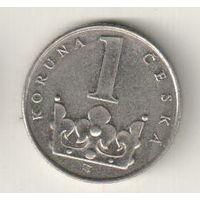 Чехия 1 крона 1993
