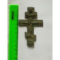 Старинный крест распятие