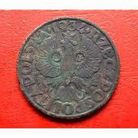 5 грош 1934г(R) не чищена с рубля