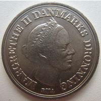 Дания 10 крон 1986 г. 18 лет со дня рождения Кронпринца Фредерика