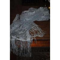 Винтажный шаль-шарфик, - времён СССР - (70-80гг.) - *практически не использовался, просто лежал в шкафу.