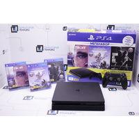 Игровая консоль Sony PlayStation 4 Slim 1Tb (3 игры). Гарантия