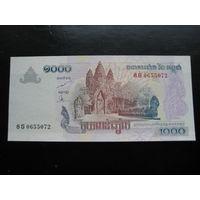 КАМБОДЖА 1000 РИЕЛЕЙ 2005 ГОД UNC