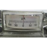 Микроамперметр 100-0-100 мкА