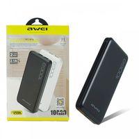 Портативное зарядное устройство Power Bank (повербанк)Awei P28K 10000 mAh