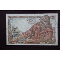 Франция 20 франков 1944
