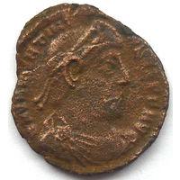 РИМ. ВАЛЕНТИНИАН I (364-375 г). СИСЦИЯ. АЕ 3.