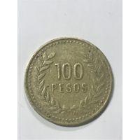 100 песо, 1992 г., Колумбия