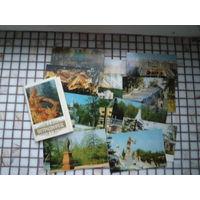 Петродворец. Комплект из 16 открыток.