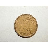 Финляндия 10 пенни 1974