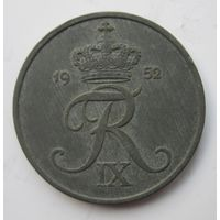 Дания 5 эре 1952  .  .8 А - 262