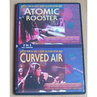 Masters From The Vaults: Atomic Rooster / Curved Air (1972, DVD-5)